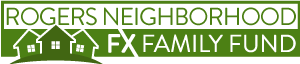 Logo for Rogers Neighborhood FX Family Fund